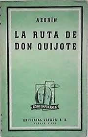 la ruta de don Quijote, de Azorin