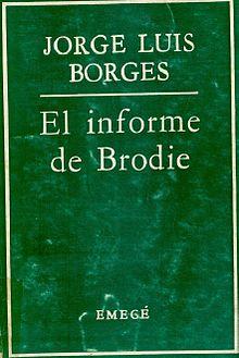 la señora mayor en El informe de Brodie de jorge luis borges