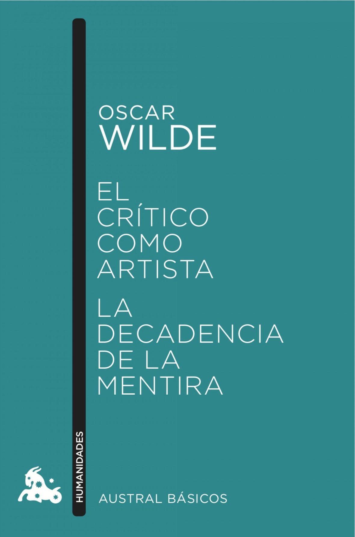 el critico como artista oscar wilde