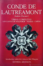 los cantos de maldoror conde de lautreaumont